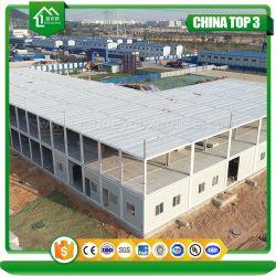 Montage rapide préfabriqués de plusieurs étages bâtiment préfabriqué de conteneur de l'école modulaire