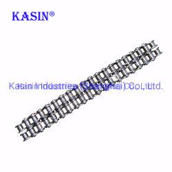 08b ISO標準のステンレス鋼Drving機械のための高い引張強さの産業伝達ローラーの鎖