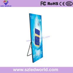 Самый легкий Удобный экран для просмотра плакат светодиодный дисплей