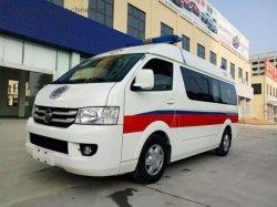 Micro Foton Ford LHD Rhd Ambulance d'urgence voiture avec chariot d'appareil médical