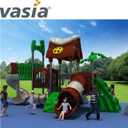 スライドおよび振動が付いている遊園地項目子供の屋外の運動場