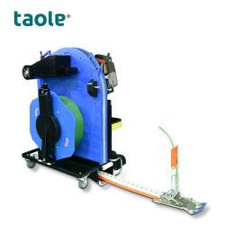 Tp-800 de flejes de palets automático sistema de máquina de alimentación