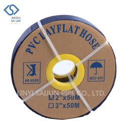 أنبوب مياه مسطح 4 بوصة مرن من مادة PVC للري مرشة خرطوم المصنع