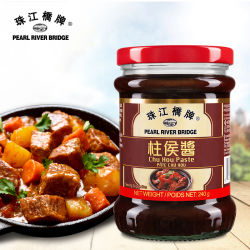 Sauce au chinois assaisonnement Pearl River Bridge Brand Chu Hou coller 240g