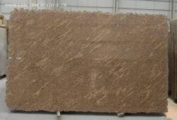 Горячие продажи золота/коричневый/серого камня Juparana Geallo Калифорнии слоев REST гранита для внутренних дел по месту жительства место на кухонном столе стены плитками на полу