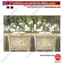 Председатель признаки Руководство по ремонту миссис свадьбы Оформление свадебных подарков лучшие свадьбы стул для проведения свадебных крышки (B6002)