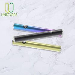 510 Snelle het Laden Regelbare Cbd Vape van de Pen USB van de Batterij Cbd Slanke Pen