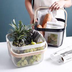Multi-funcional de acero de almacenamiento permanente de hogares libres de la cesta