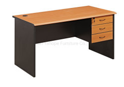 Factory Wholesale Classic Wooden Cherry Staff Study computer Office Table