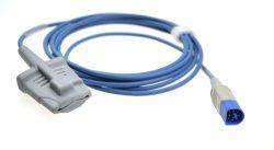 Sensore molle 8pin dell'ossimetro SpO2 di impulso di punta del silicone adulto di Philips MP30