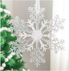 Акрил продукта акриловый снежинка рождественские украшения украшения