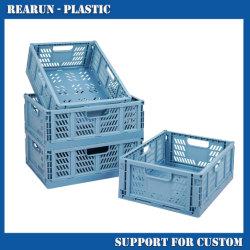 Mesh Large Foldable Plastic Packaging Pallet Bulk Fallable Storage Cage 판매용 컨테이너