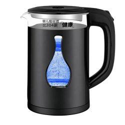 Fácil de la calefacción en la caja de vidrio borosilicato Cocina Hervidor de agua con una buena Controller