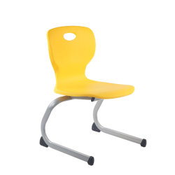 Mobiliário moderno de alunos de Ensino de Turismo Tabela Cadeira Escolar de plástico na sala de aula