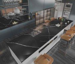 Pierre fritté noir et blanc Morden Table et chaise ensemble mobilier de maison Décoration intérieure