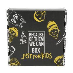 Caja de cartón reciclado de papel personalizado regalo impreso el logotipo personalizado