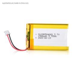 Batería de polímero de litio 3,7V 1500mAh Batería de polímero de litio 584060