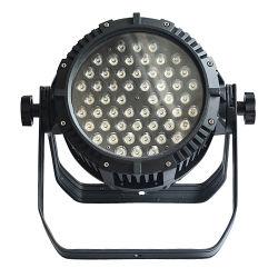54 * 3W DMX LED RGBW 스테이지 조명 장비 방수 파 캔 라이트