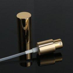 Venda quente 18/410 18mm de alumínio Névoa de parafuso do pulverizador com a pequena tampa de alumínio para frasco de óleo