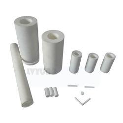 Sinterend de Plastic Filter van de Lucht PTFE 0.2/0.45/1/5/10 van de Poreuze TeflonMicrons Filter van de Buis PTFE voor Lucht/Vloeibare Reiniging