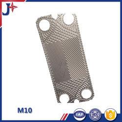 Sustitución de la M10 SS304/SS316L Placa de transferencia de calor de placas con una alta eficiencia