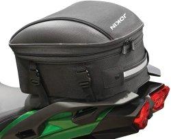 까만 Commuter Sport Motorcycle Tail 또는 Seat Bag