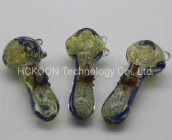 Rauchende Pyrex Glas-Rohr-bewegliche Handtabak-Löffel-Rohre