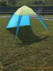 tenda della spiaggia di campeggio del poliestere 170t grande della tenda di Sun della tonalità leggera portatile del riparo