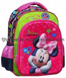 Tendência Minnie EVA Double Tiracolo Cartoon Escola Poliéster Bag