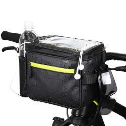 순환 사진기 부대 이동 전화 장비 자전거 자전거 자전거 핸들 부대