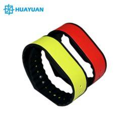 Водонепроницаемый custom силиконовой резины RFID запястья band NTAG213 NFC браслет