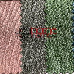 Twee TextielProducten Van kationen van het Huis van het Kussen van de Zetel van de Bank van het Kussen van de Zetel van de Auto van de Stof van de Hennep van het Mengsel van de kleur Imitatie