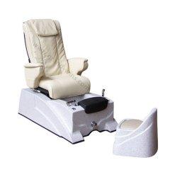 Stoel van de Pedicure van de Massage van de Voet van de Massage van de Rugleuning van het Leer van de Salon van de schoonheid de Robotachtige