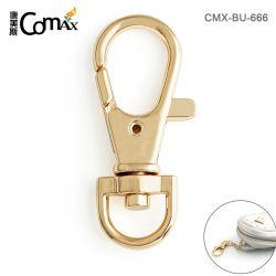 Promotion de gros en alliage de zinc métal 11mm Sac crochets clé pour les sacs, Professional Custom Gold Mousqueton en métal