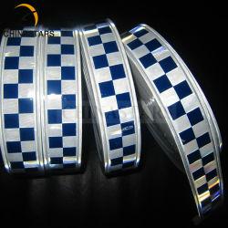 Micro de PVC Cinta de PVC reflectante prismáticos cristal/PVC Cinta reflectante / Alerta de PVC cinta reflectante para la hoja de seguridad prendas de vestir