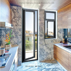 De Deur van de Gordijnstof van het aluminium voor Woningbouw (voet-D85)