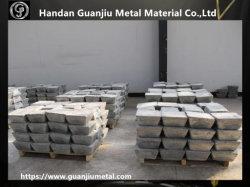 Lingote de antimonio el 99,99% con China SGS aprobado con fábrica de fabricación