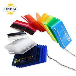Tabellone acrilico di prezzi dello strato 4X8 di formato A5 18mm 25mm di Jinbao 1250*2450 del campione libero per il comitato di soffitto