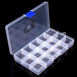 Les grilles de boîte de 36 diviseurs réglables de l'Organiseur des blocs de construction clair cordon conteneur de stockage de cas
