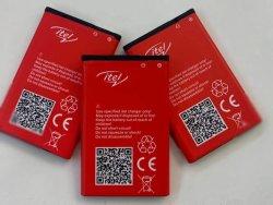 스캔 코드/원래 공장 출하 시 배터리, Bl--4c 5c 충전식 리튬 이온 배터리 포함