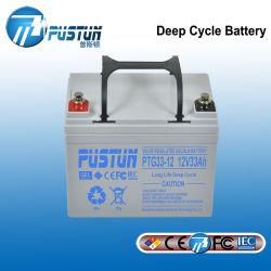 SMF UPSの深いサイクルの太陽記憶VRLA電池12V 33ah