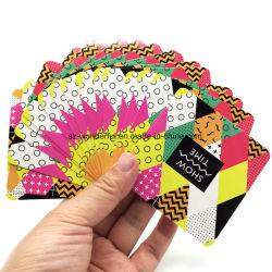 Les cartes à jouer au poker personnalisé de gros des cartes à jouer
