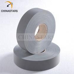 Cnss衣類のためのレトロの反射銀製ファブリック布そして安全テープ
