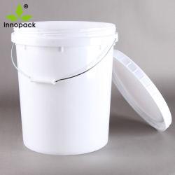 20 liter Emmer van de Emmer van 5 Gallon de Plastic met Schroefdop