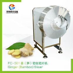 Différentes utilisations de tranches de gingembre râpé Machine de découpe de déchiquetage
