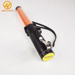 토치 빛 번쩍이는 291mm 자석 호각 소통량 지팡이
