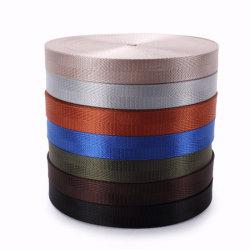 De in het groot Elastische Riem van 1/2 Duim PP/Polypropylene/Cotton/Nylon/Polyester/Fabric/Poly, Riem, Lint, Singelband van de Douane van 25/50mm de Zwarte voor Kledingstuk en Zakken