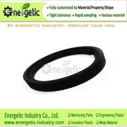 Noir en nylon MC Trou Special-Shaped rotatif en plastique d'étanchéité de la Fabrication de pièces en plastique de service/custom/Machinable plastique/les pièces en plastique/plastique CNC