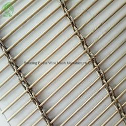 Tessuto architettonico di Partations della maglia del soffitto del metallo dell'acciaio inossidabile