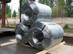 Haute résistance à la traction de redessiner le fil en acier électro-galvanisé